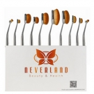 Kit de 10 Pinceaux Visage et Yeux, Neverland - Infos et avis