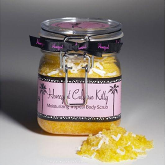 Calypso Kitty Pineapple Scrub, Honeycat cosmetics - Infos et avis