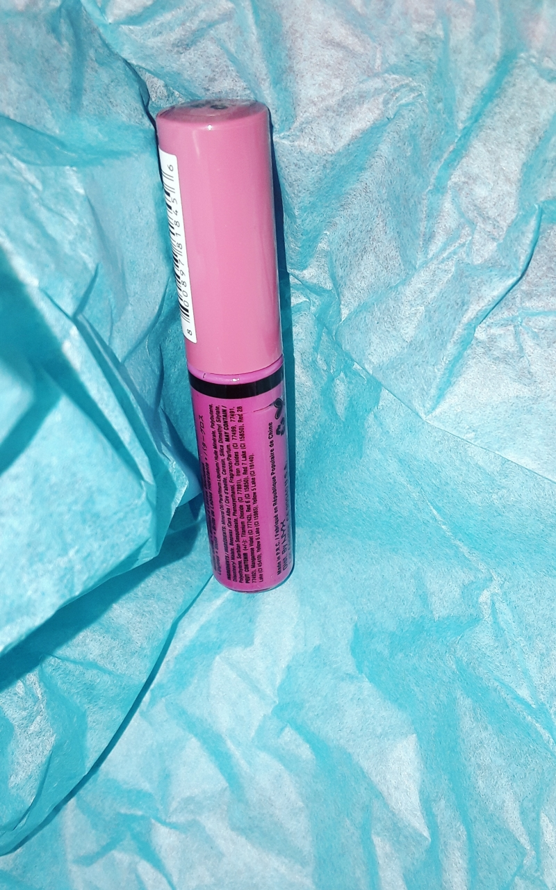 Swatch Butter Gloss, NYX
