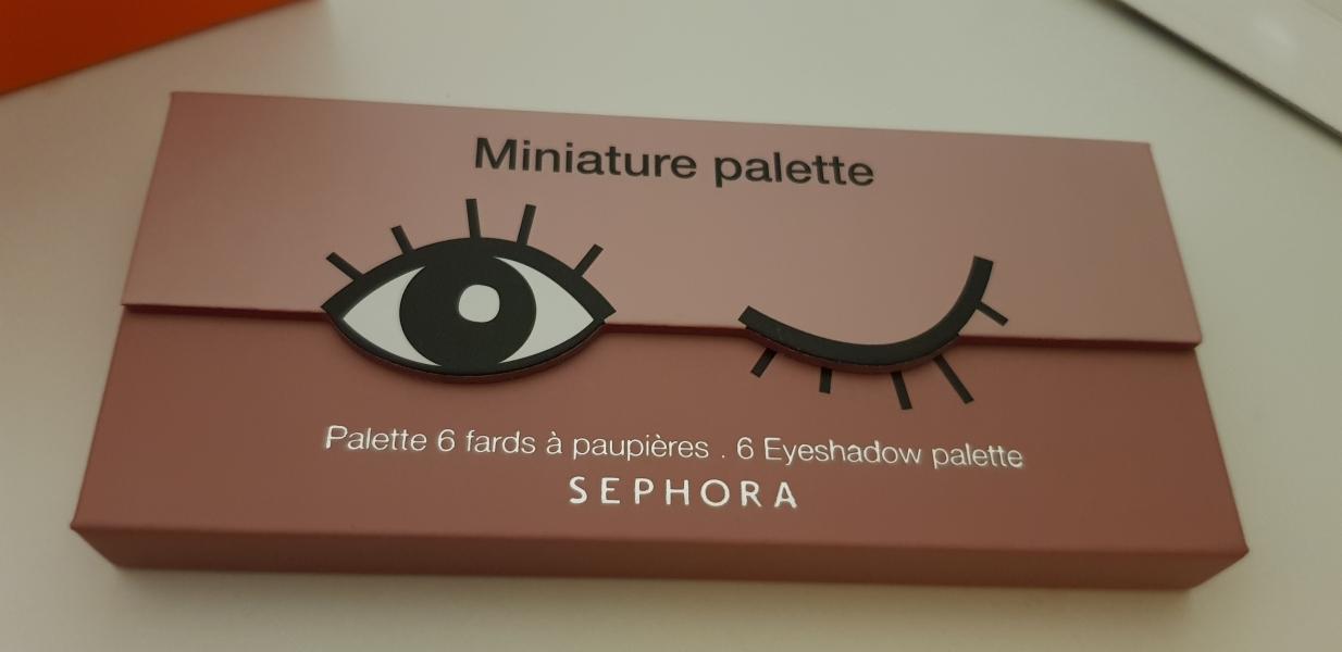 Swatch Miniature palette, Sephora