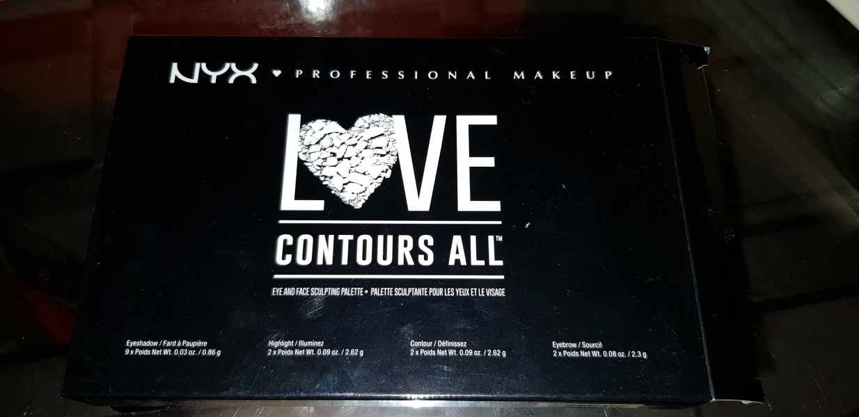 Swatch All contour love palette, NYX