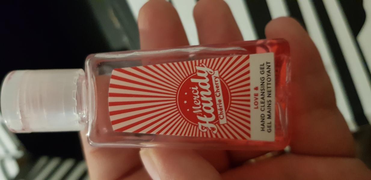 Swatch Gel mains nettoyant, Merci Handy