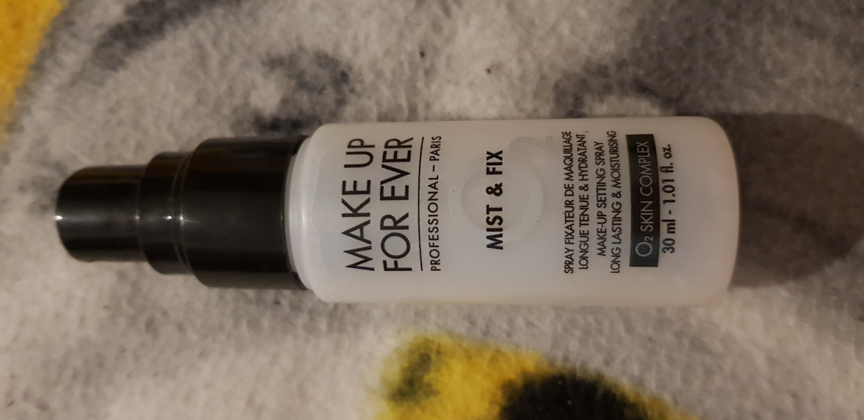 Swatch Mist & Fix, Make Up For Ever