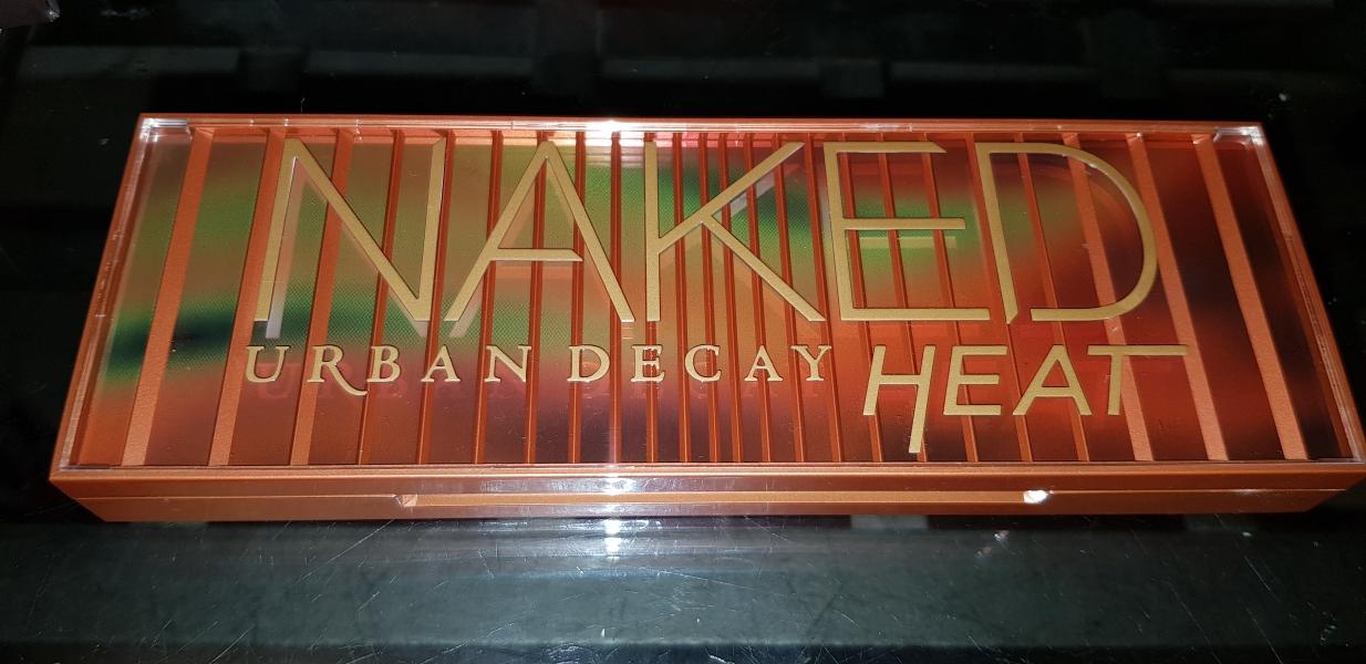 Swatch Naked Heat Palette de fards à paupières, Urban Decay