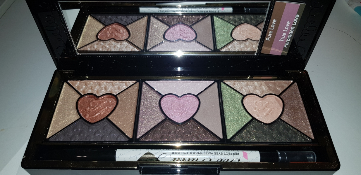 Swatch Love Palette, Too Faced