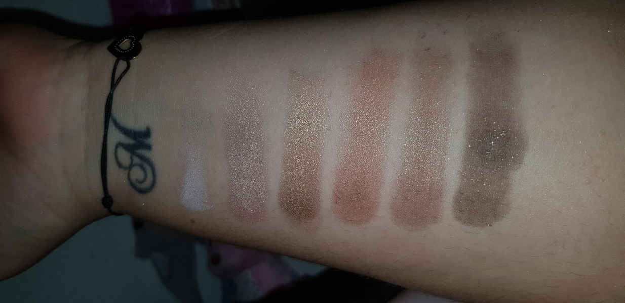 Swatch Natural Love, Too Faced