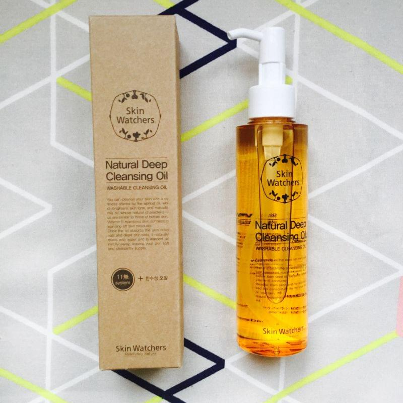 Swatch Natural deep cleansing oil, Skin Watchers