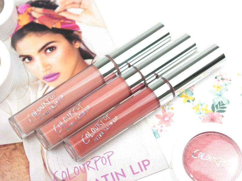Swatch Ultra Satin Lip, Colourpop