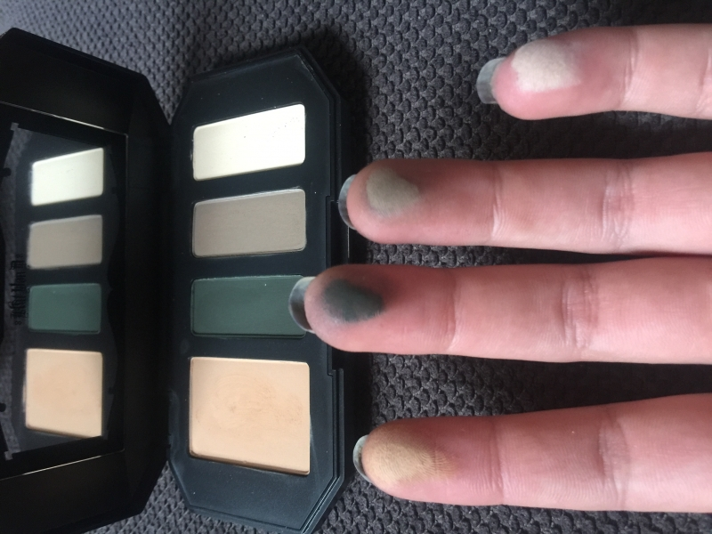 Swatch Shade    Light Eye Contour Quad - ensemble contour des yeux, Kat Von D