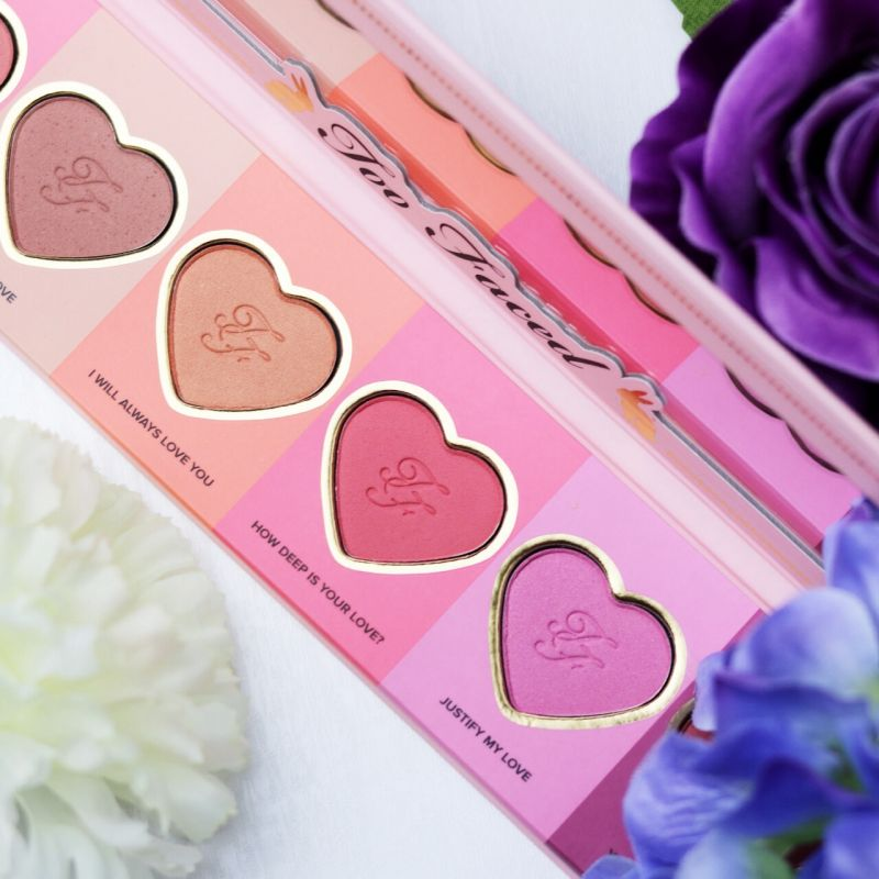 Swatch Love Flush Blush Set, Too Faced
