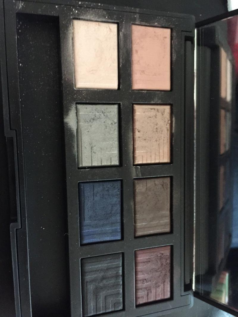 Swatch Palette Dual intensity eyeshadow narsissist, Nars