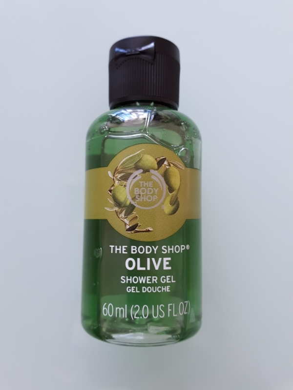 Swatch Gel douche Olive, The Body Shop
