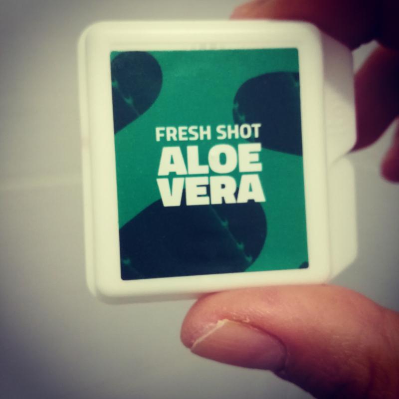 Swatch Fresh Shot Aloe Vera, Romy Paris