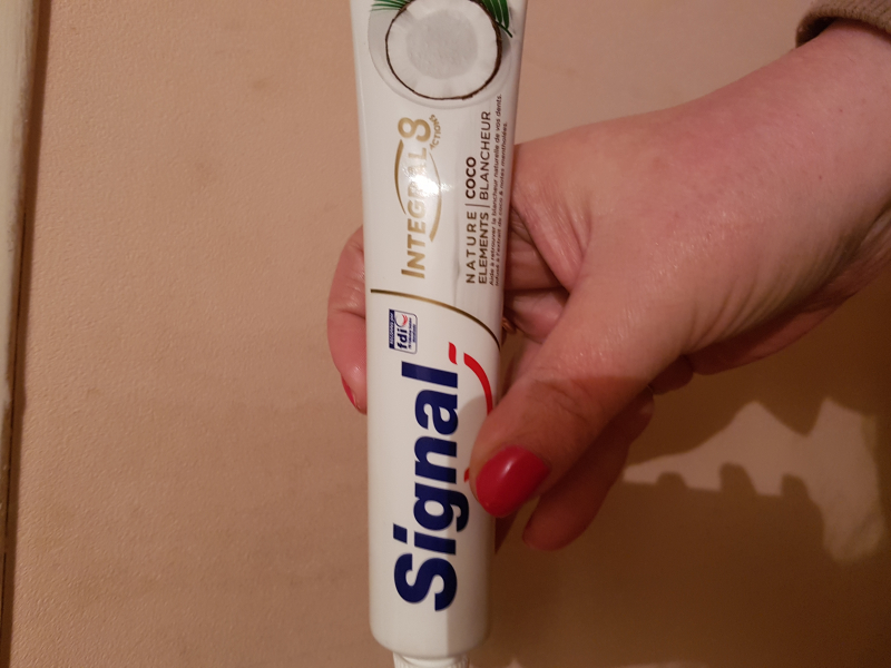 Swatch Signal Integral 8 Nature Elements Coco Blancheur, Signal