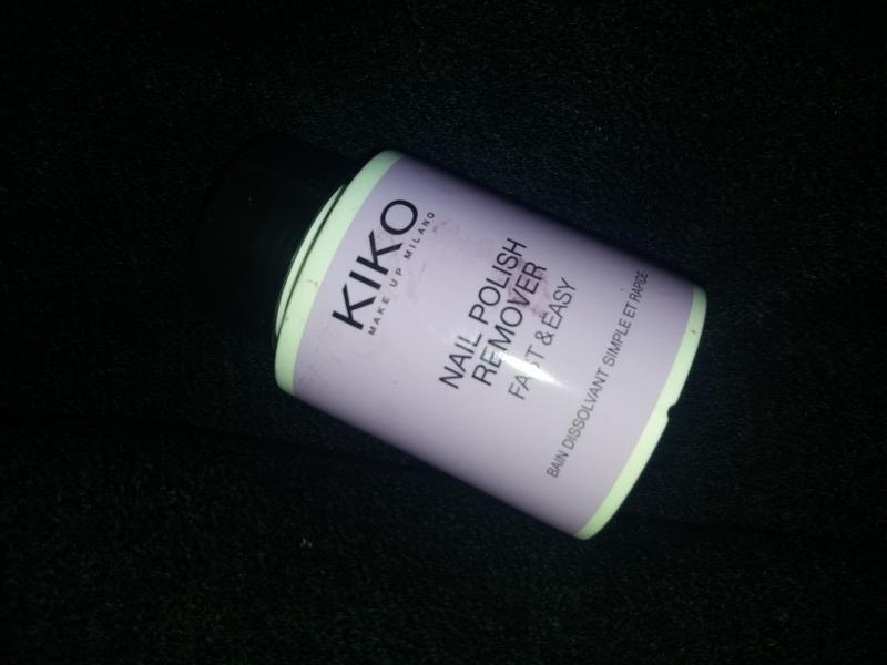 Swatch Nail Polish Remover Fast & Easy, Kiko
