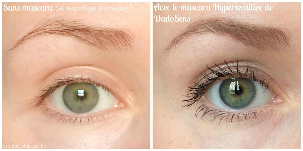 Swatch Mascara Hypersensitive Black, Dado Sens