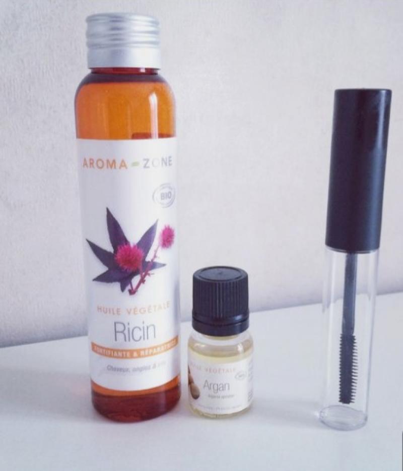 Swatch Huile de Ricin Bio, Aroma-Zone