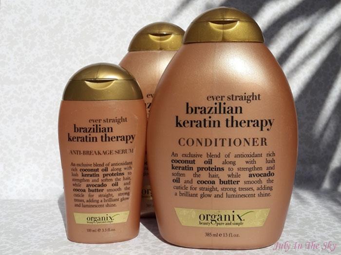 Swatch Brazilian Keratin Therapy - Serum anti-casse, Organix