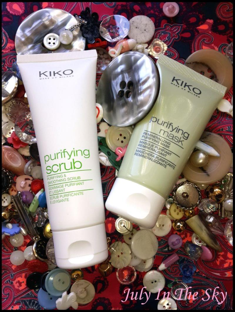 Swatch Purifying Mask, Kiko