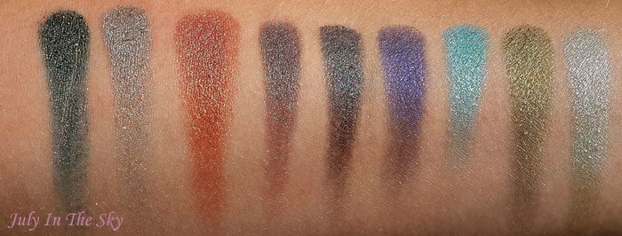 Swatch Foiled Eyeshadow, Makeup Geek
