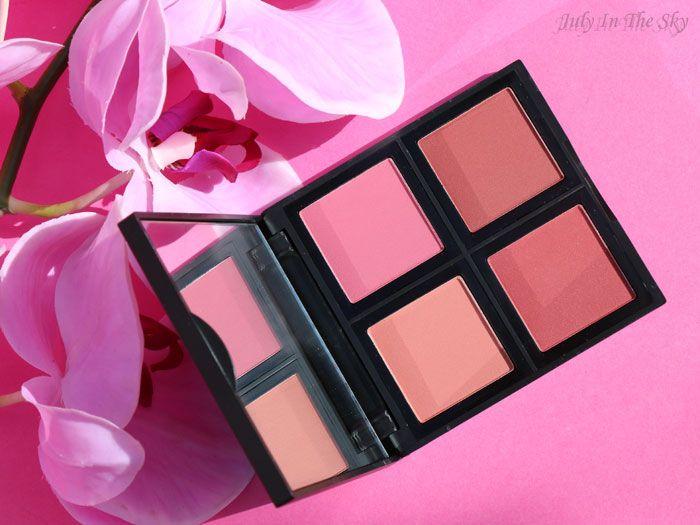 Palette de blush studio, Eyeslipsface : July In The Sky aime !
