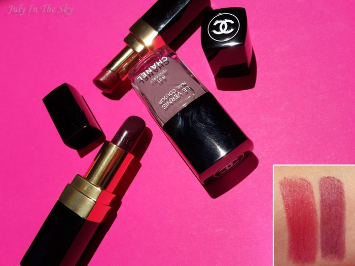 Swatch Rouge Coco, Chanel