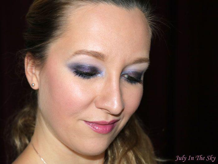 Swatch Palette de blush studio, Eyeslipsface