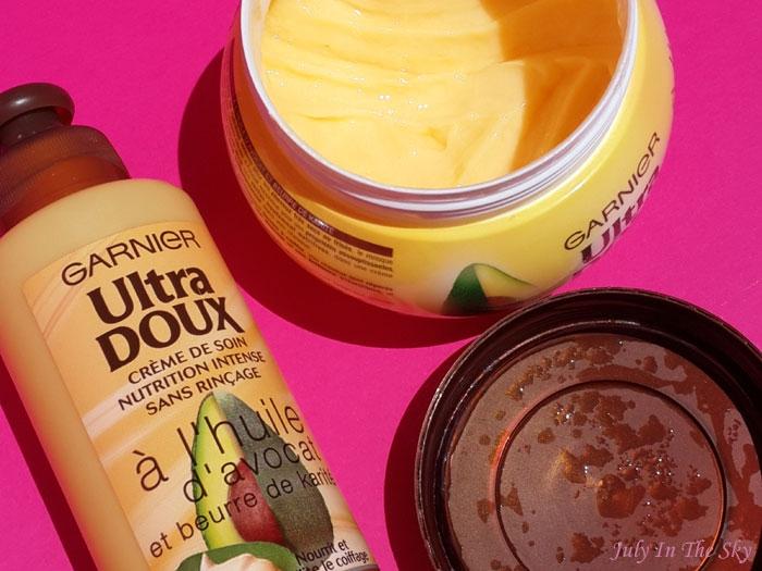 Swatch Masque Nutrition Intense Huile d'Avocat et Beurre de Karité Ultra Doux, Garnier