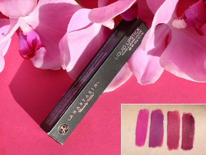 Swatch Liquid Lipstick - Rouge à lèvres liquide, Anastasia Beverly Hills