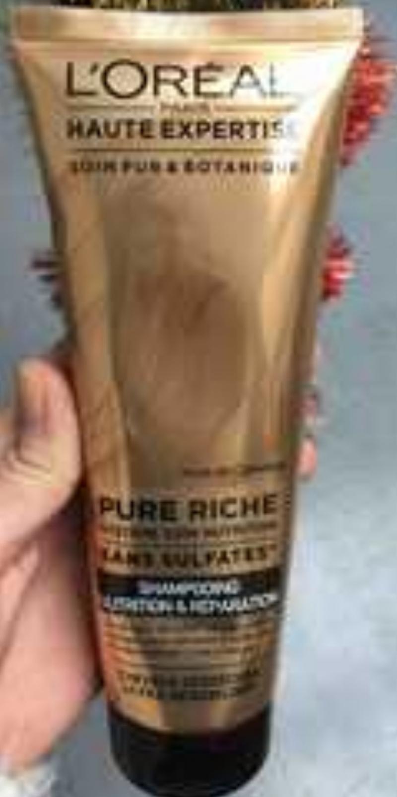 Swatch EverRiche - Shampooing Nutrition et Réparation, L'Oréal Paris