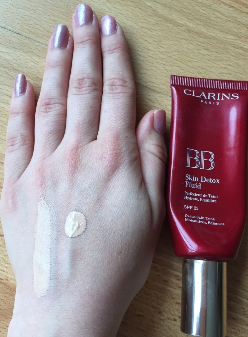 Swatch BB Skin Perfecting Cream SPF25, Clarins