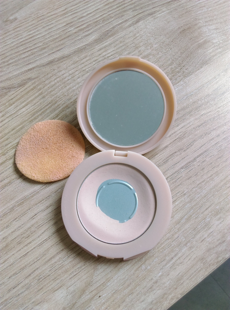 Swatch Affinitone Poudre Compacte, Gemey-Maybelline