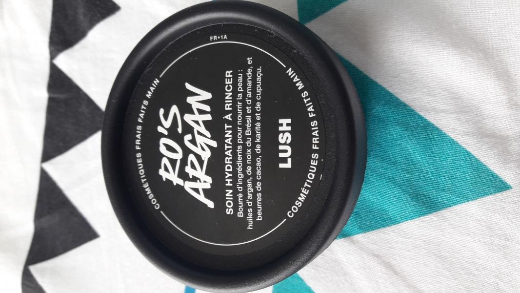 Swatch Ro's argan, Lush