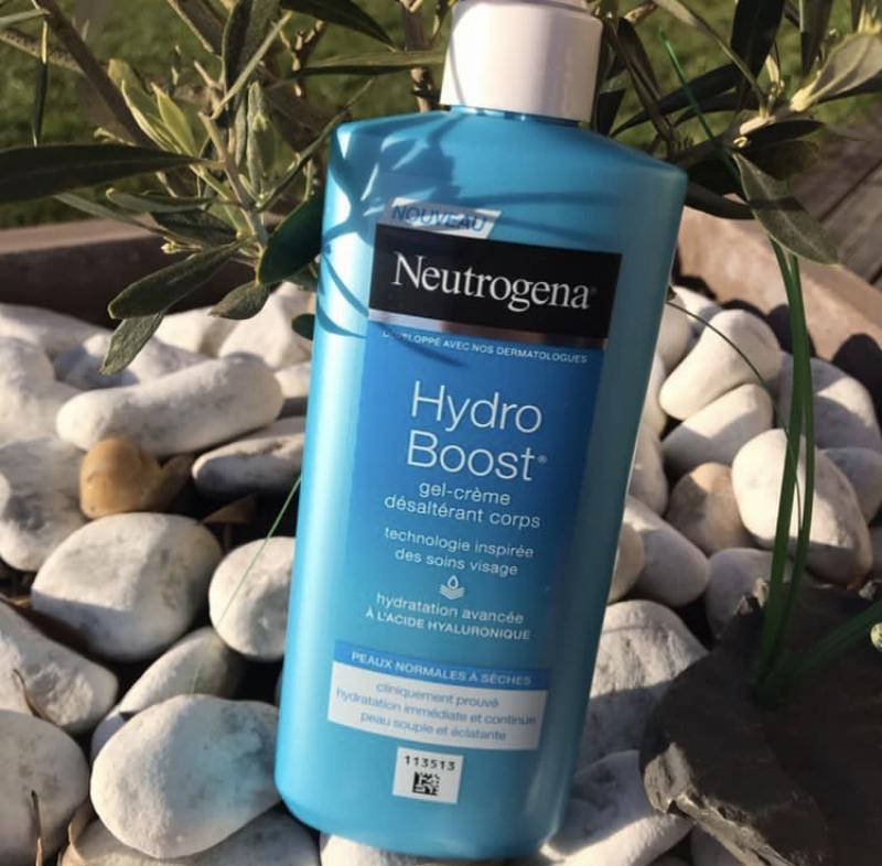 Swatch Gel-crème désaltérant corps - Hydro Boost, Neutrogena