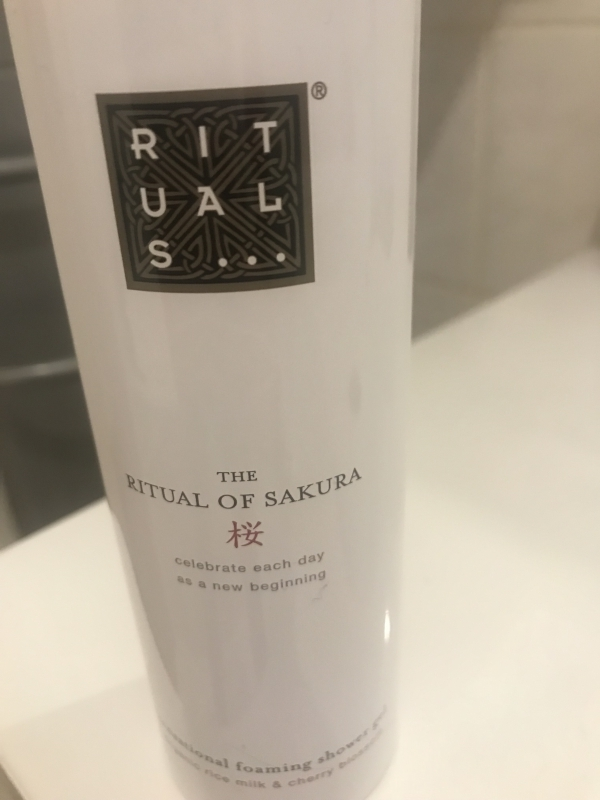 Swatch The Ritual of Sakura Foaming Shower Gel - Mousse de douche, Rituals