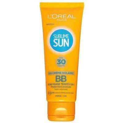Sublime Sun BB Crème Solaire 6 en 1 FPS 30, L'Oréal Paris - Infos et avis