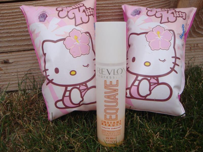 Swatch Equave instant beauty sun protection, Revlon Professional