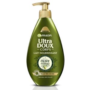 Lait Nourrissant - Ultra Doux Corps Olive Mythique, Garnier - Infos et avis