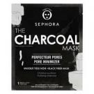 The charcoal mask-Le masque charbon - Masque tissu noir, Sephora