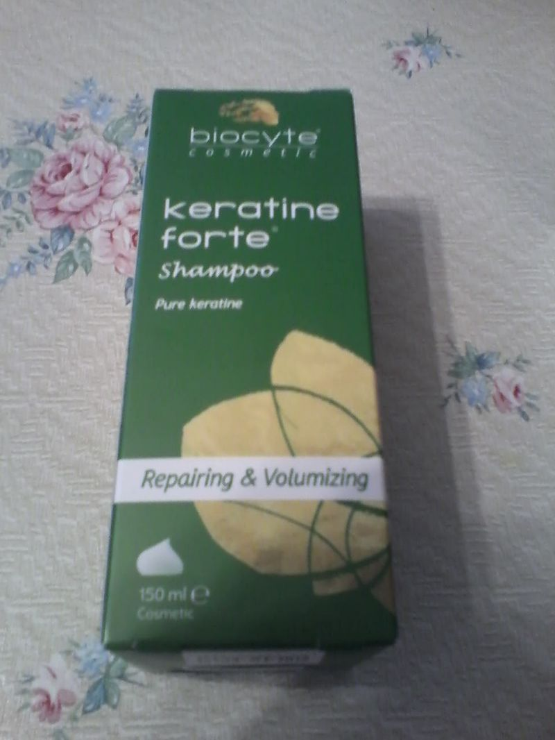 Swatch Keratine Forte Shampooing Soin Réparateur, Biocyte