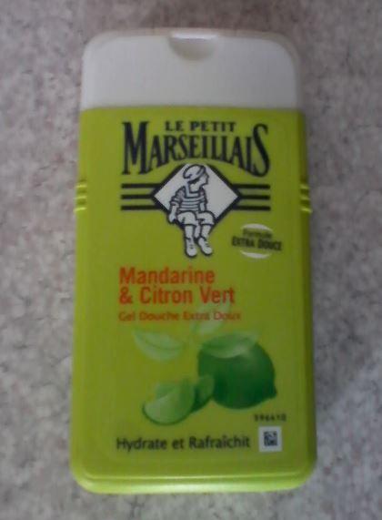Swatch Gel douche mandarine & citron vert, Le Petit Marseillais