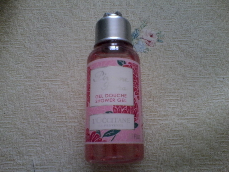 Swatch Gel Douche Pivoine Flora - 75 ml - L'Occitane en Provence, L'Occitane