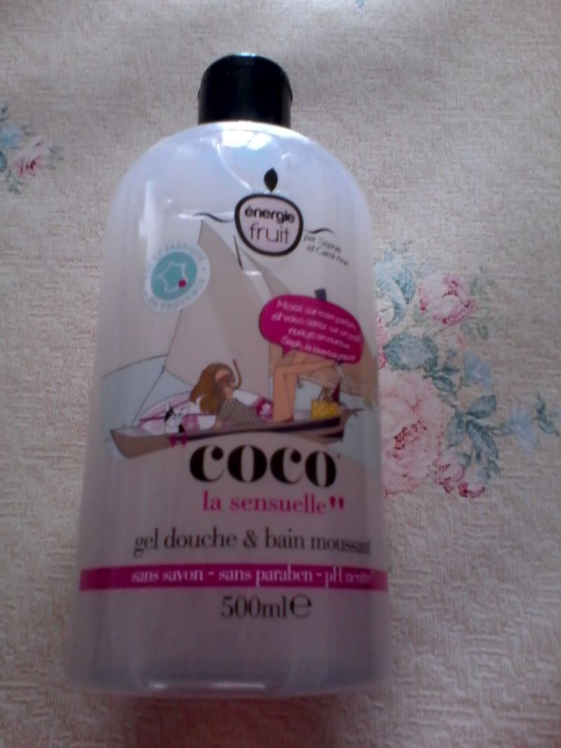 Swatch Gel Douche et bain moussant Coco, Energie Fruit