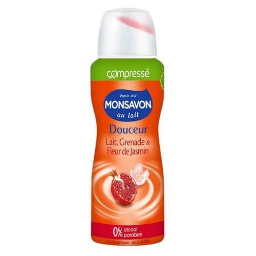 Déodorant Douceur lait grenade & fleur de jasmin - Compressé, Monsavon - Infos et avis