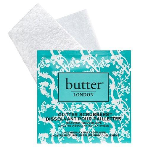 Glitter Scrubbers Textured Remover Wipes Lingettes Dissolvantes, Butter London - Infos et avis