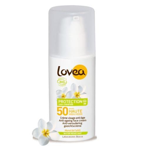 Crème Visage SPF50 anti-âge certifiée BIO, Lovea - Infos et avis
