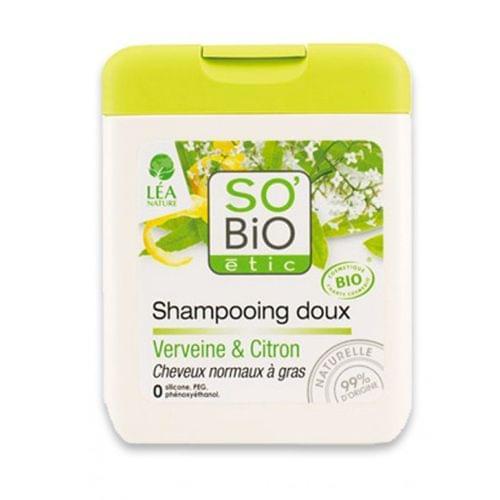 Shampoing Doux Verveine & Citron, So'bio Etic - Infos et avis