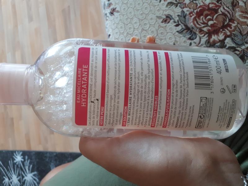 Swatch Eau micellaire hydratante, Diadermine
