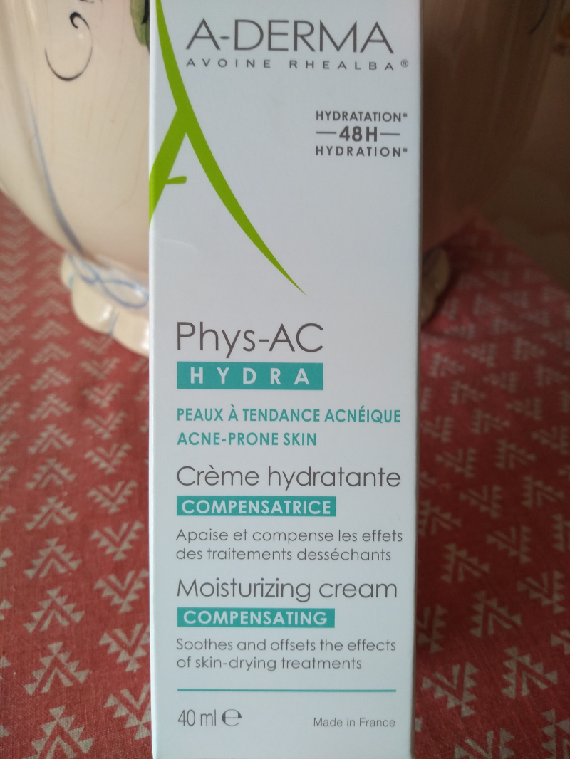 Swatch Phys-AC Hydra Crème compensatrice - 40 ml, A-Derma