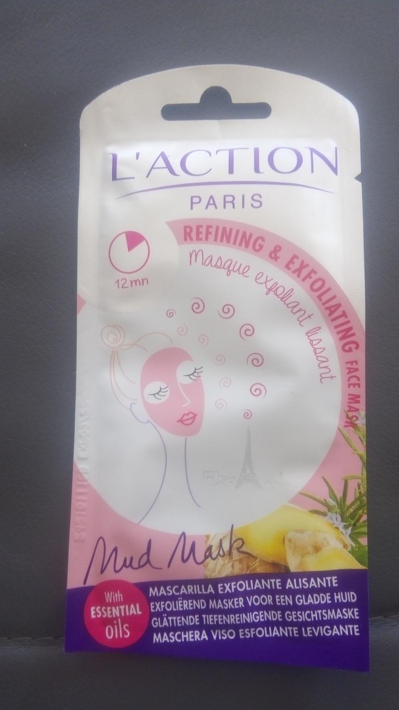 Swatch Masque exfoliant lissant, L'action Paris